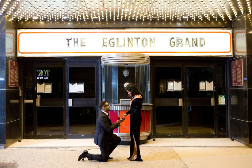 Proposal at The Eglinton Grand