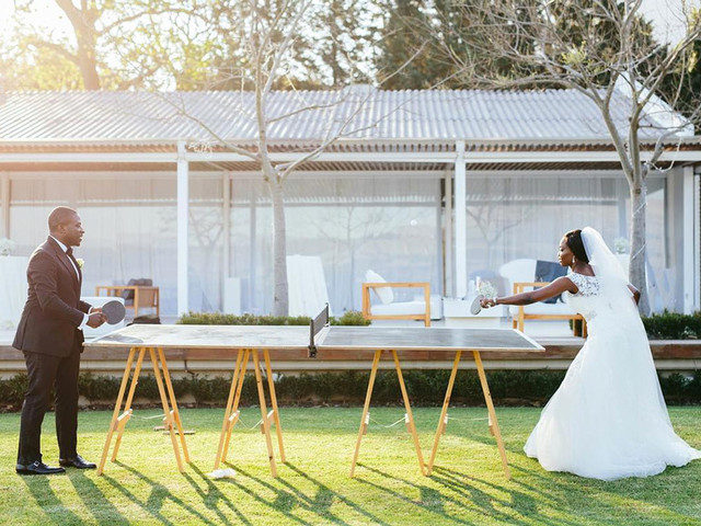 8 Outdoor Wedding Reception Games That'll Keep Your Guests Entertained