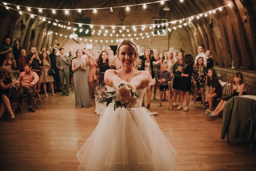 There Goes The Bouquet explained: British Wedding Traditions