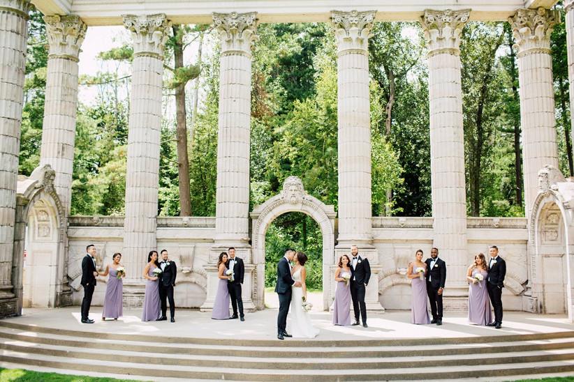 The Guild Inn Estate outdoor wedding venue in Toronto
