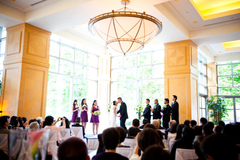 Waterfront wedding venue in Vancouver - Fairmont