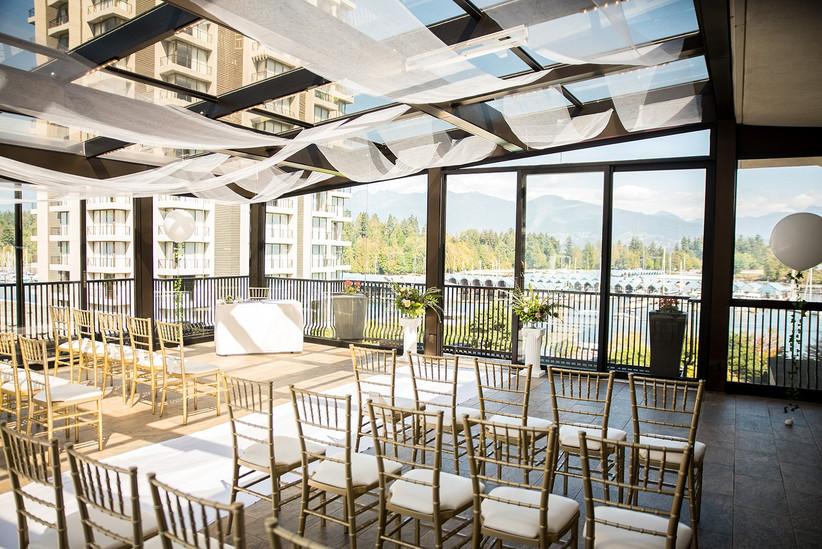 Waterfront wedding venues in Vancouver - Westin Bayshore