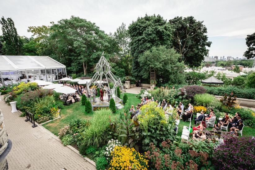 Casa Loma outdoor wedding venue in Toronto