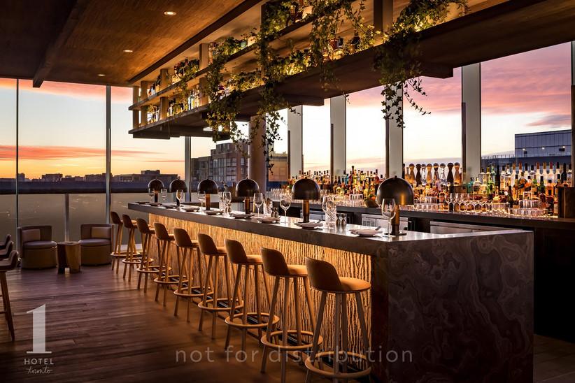 1 Hotel outdoor wedding venue in Toronto