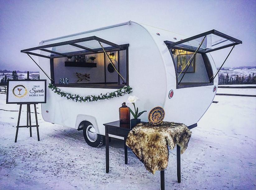 Mobile wedding bar