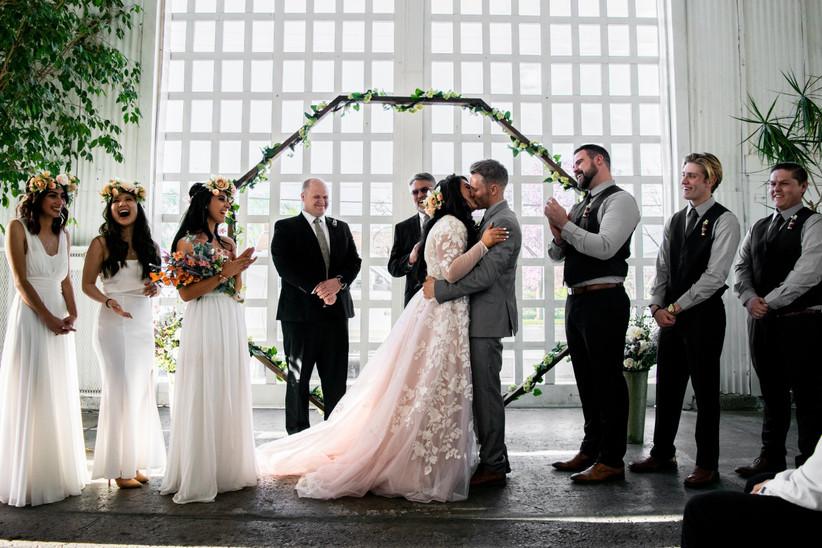 Wedding ceremony video