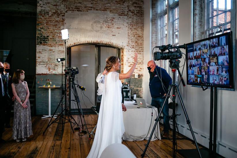 Wedding livestream