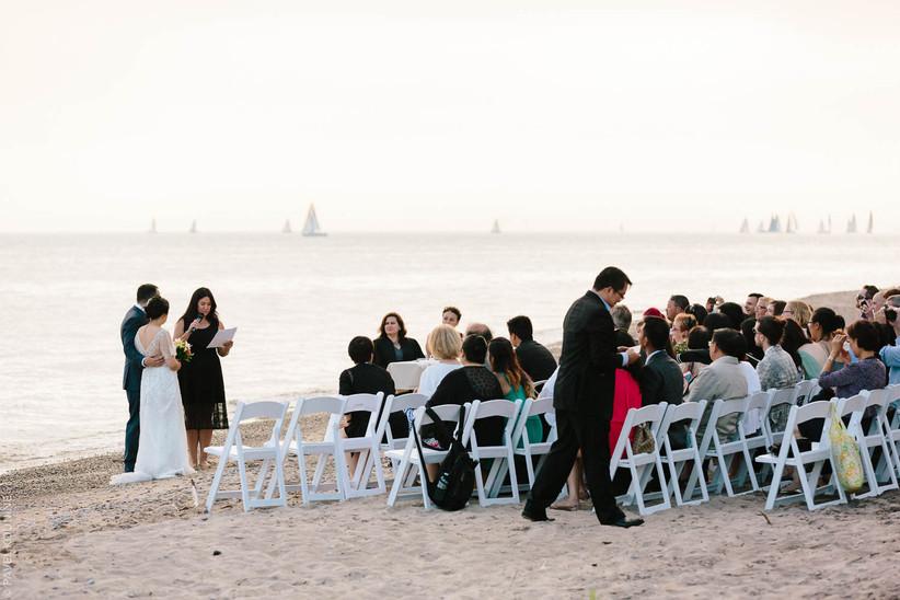 Toronto Island outdoor wedding
