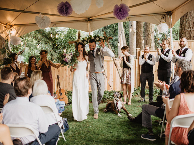 7 Reasons Backyard Weddings Are Awesome