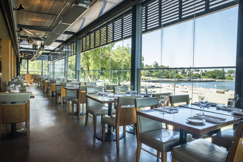 Waterfront wedding venues in Vancouver - The Boathouse