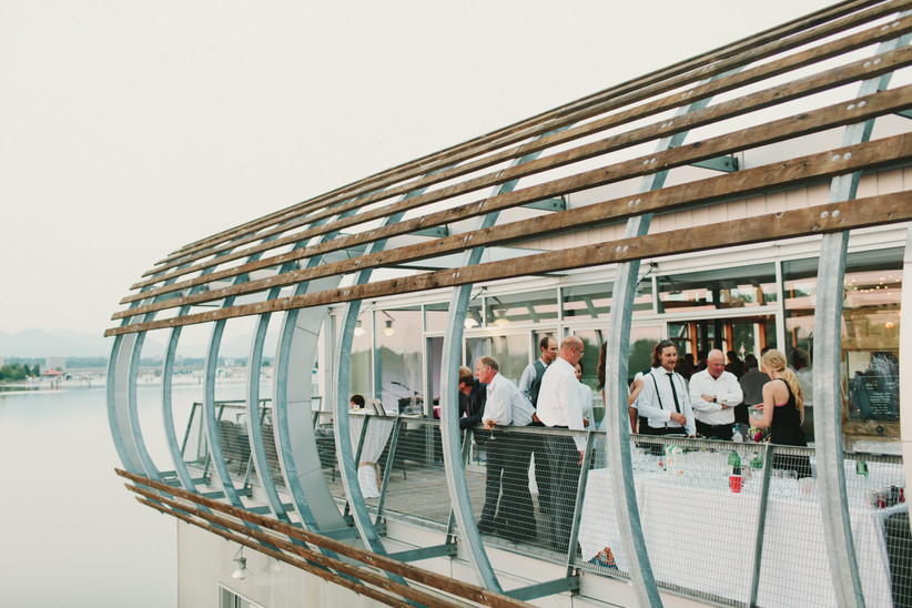Waterfront wedding venues in Vancouver - UBC Boathouse