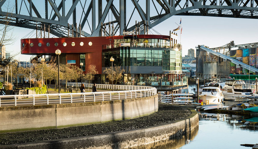 Waterfront wedding venues in Vancouver - False Creek Yacht Club