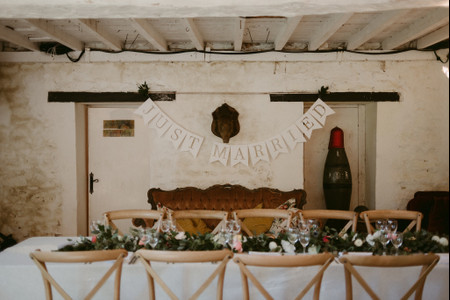 11 Creative Ways to Decorate with Wedding Bunting
