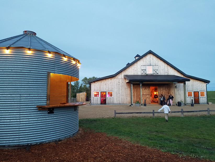 Outdoor Edmonton Wedding Venue - The Barn at Lions Garden Estate