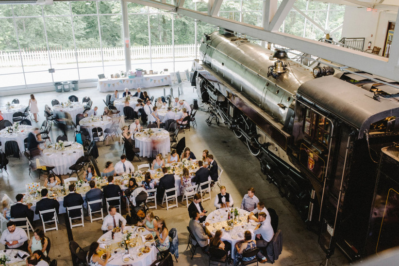 CN Roundhouse & Conference Centre wedding in Squamish