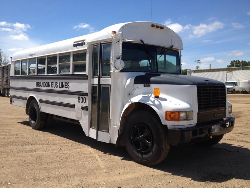 Wedding school bus renatl