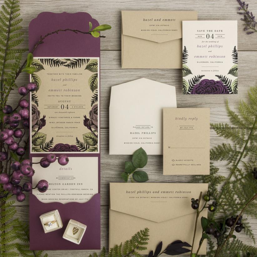 Simply Wedding Invitations