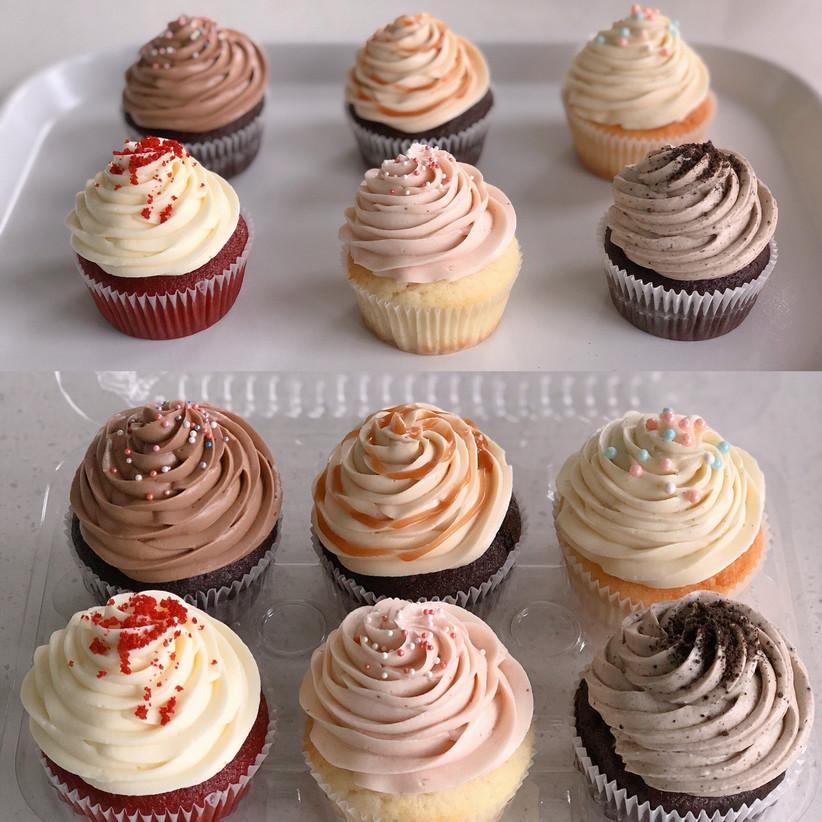 Wedding cupcake samples
