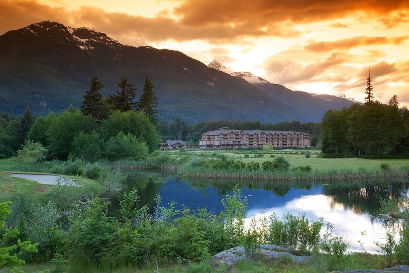 Executive Suites Garibaldi Springs Resort wedding in Squamish