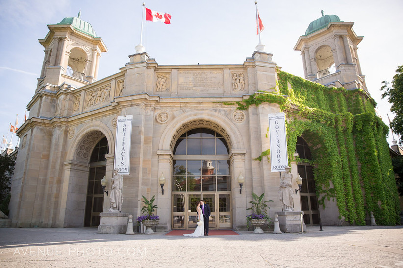 Toronto waterfront wedding venues - Liberty Grand
