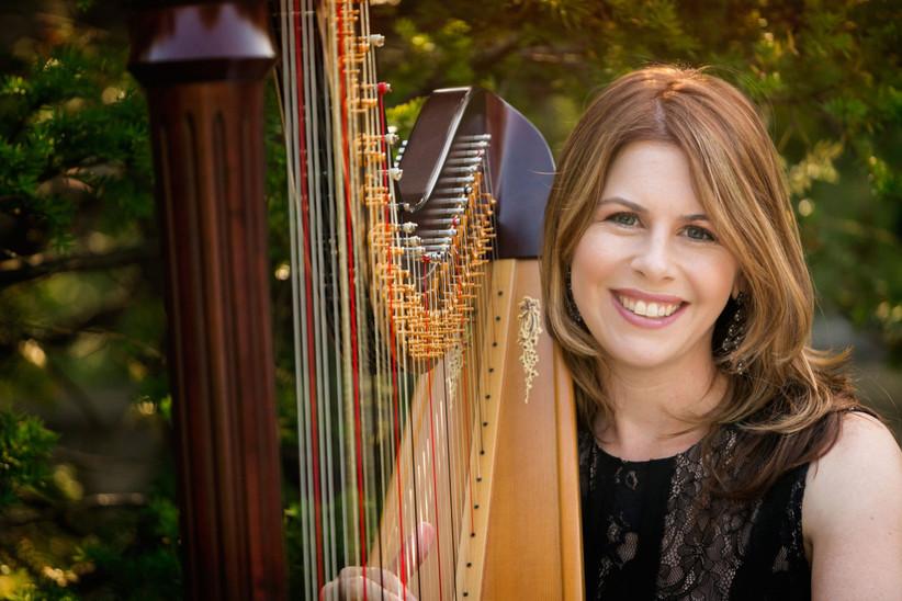 Chantal Dube, The Harpist