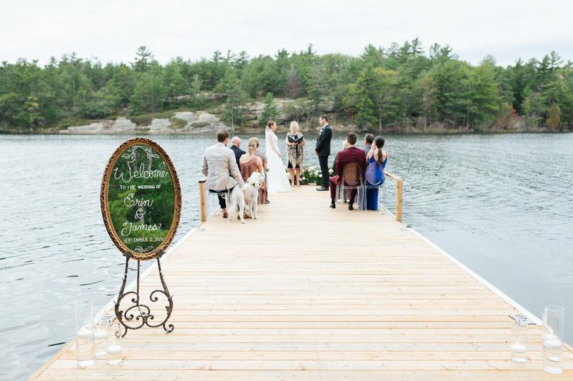 Mini-mony outdoor cottage wedding