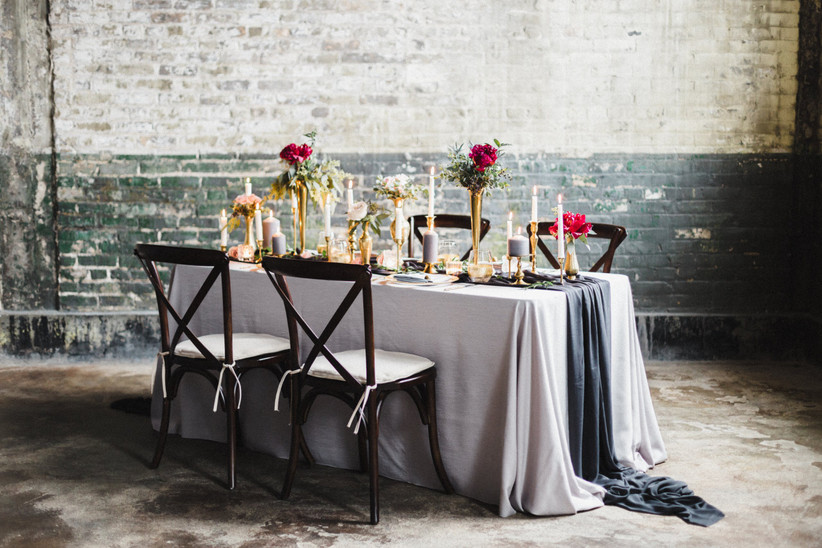 Valentne's Day Wedding Table