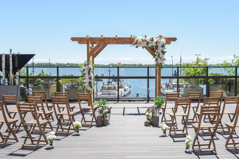 Toronto waterfront wedding venues - Westin Harbour Castle