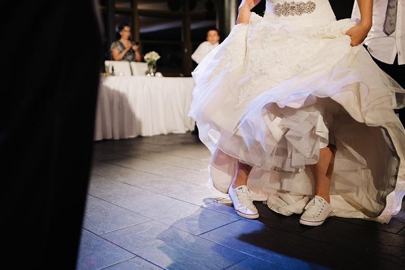 Wedding dancing shoes