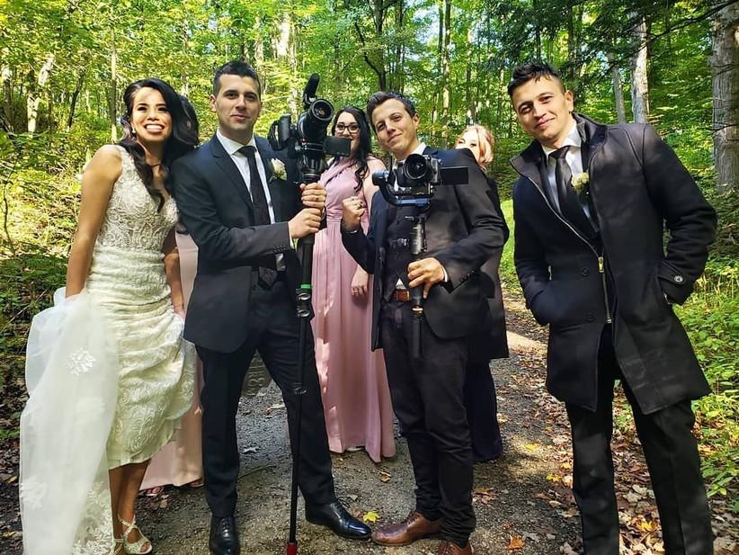 Wedding video crew