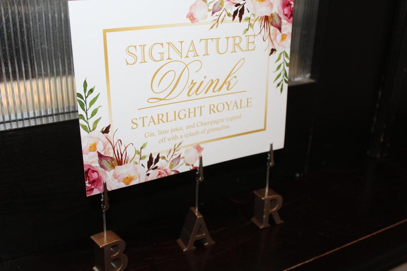 Bridal shower cocktail