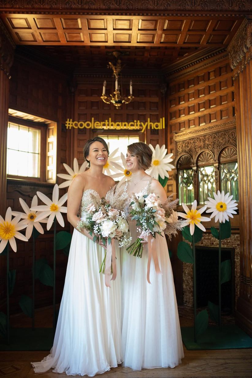 Covid wedding pop-up chapel