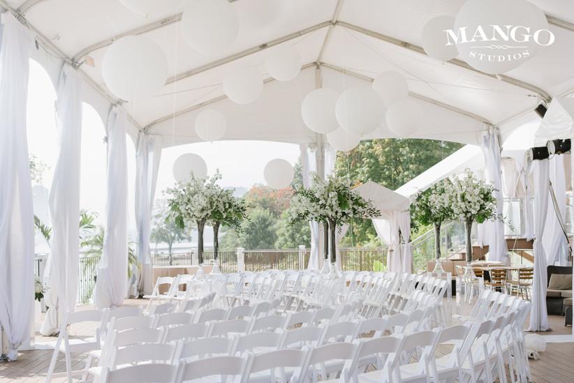 Palais Royale outdoor wedding venue
