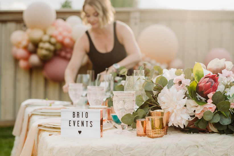 Hire a wedding planner to help