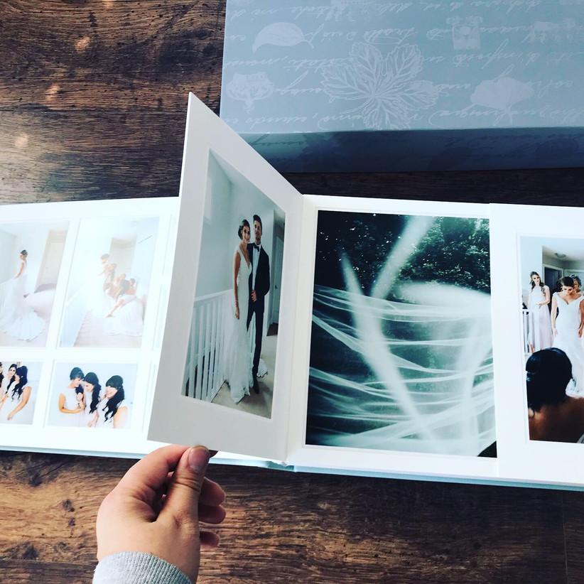 Wedding Photo Album Edmonton