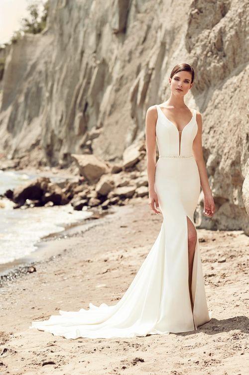 Style #2107, Mikaella Bridal