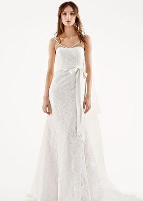 White by Vera Wang Style VW351227, David's Bridal