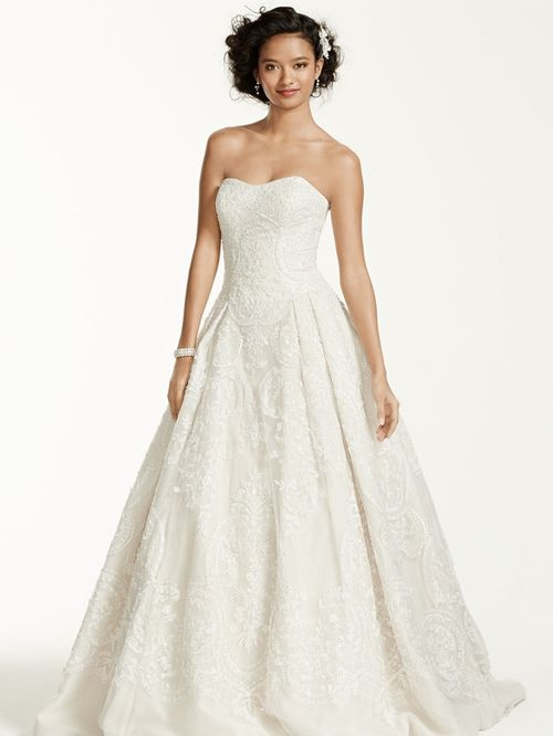 Oleg Cassini Style CWG635, David's Bridal