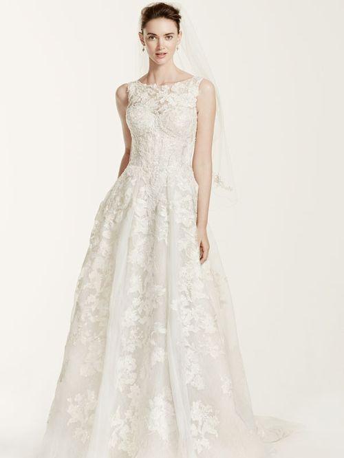 Oleg Cassini Style CWG658, David's Bridal
