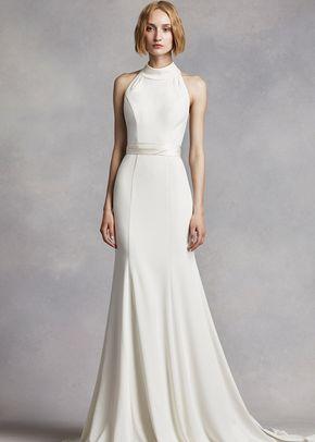 White by Vera Wang Style VW351263, David's Bridal