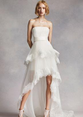 White by Vera Wang Style VW351281, David's Bridal