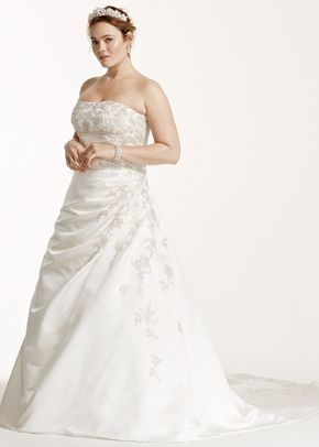 David's Bridal Woman Style 9V9665, David's Bridal