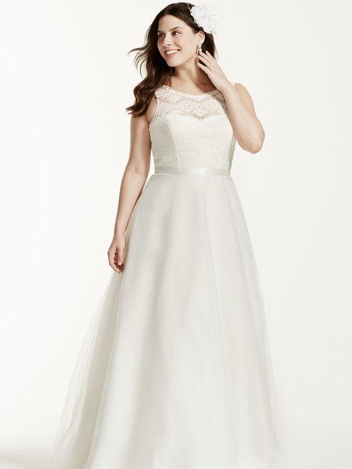 David's Bridal Woman Style 9WG3711, David's Bridal