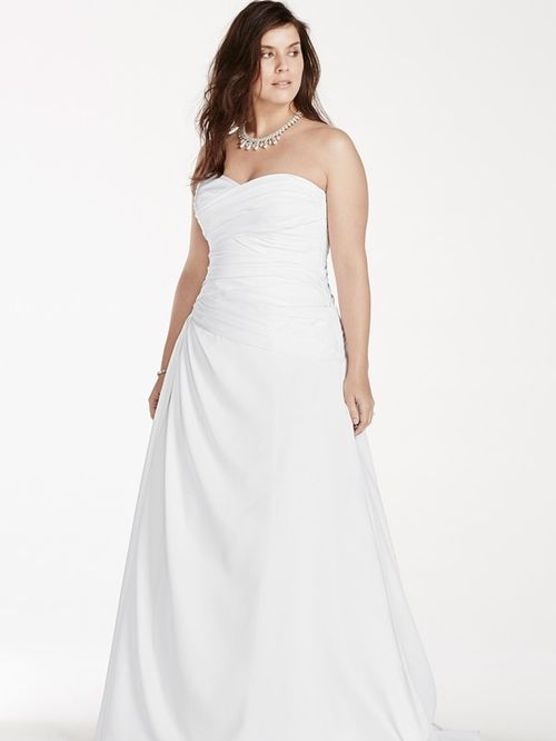 David's Bridal Woman Style 9WG3743, David's Bridal