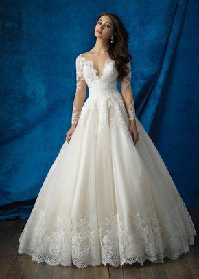 9366, Allure Bridals