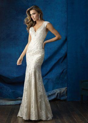 9367, Allure Bridals