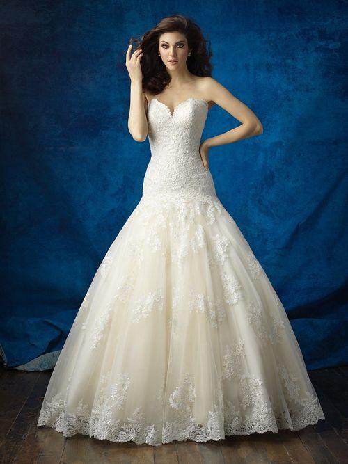 9372, Allure Bridals