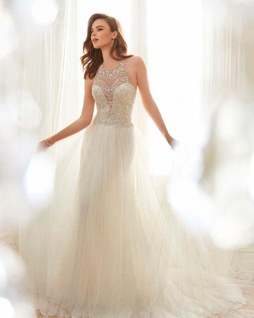 Y11714 - CELESTIA, Mon Cheri Bridals