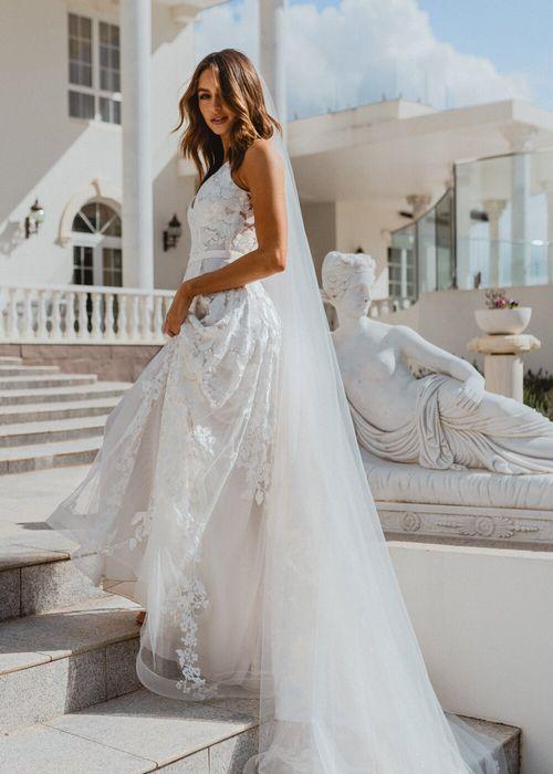 HAZEL DRESS IVORY, Anna Campbell