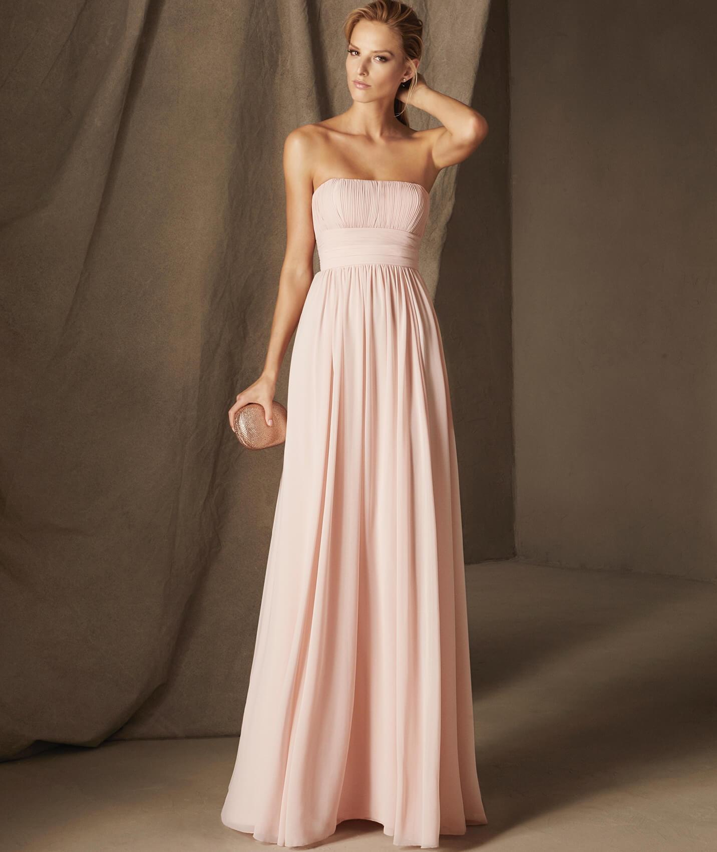 Красивое длинное платье на свадьбу фото